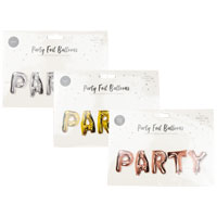Party Foil Balloons Pack