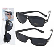 Mens Matt Black Sunglasses
