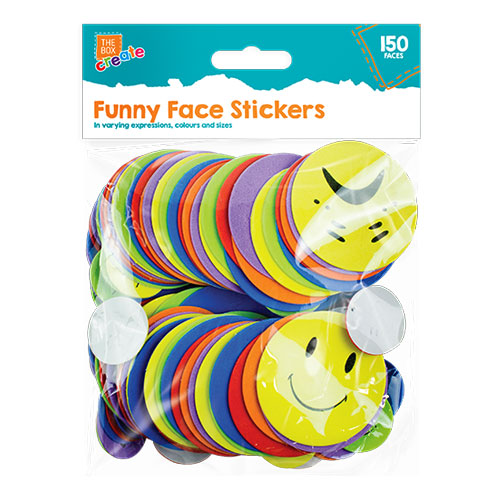 Funny Expressions Face Stickers