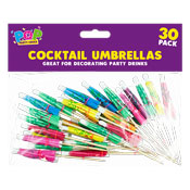 Party Cocktail Umbrellas 30 Pack