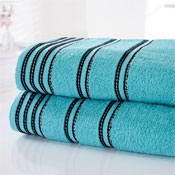 Sirocco Luxury Cotton Bath Towels Turquoise