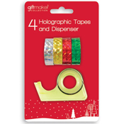 Gift Wrap Holographic Tape and Dispenser