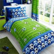 Goal Blue Rotary Duvet Set