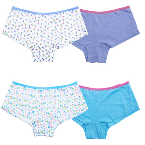 Girls Boxer Shorts 2 Pack