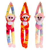 50cm Animotsu Monkeys Assorted Soft Toy