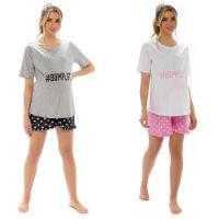 Ladies Jersey Maternity Pyjama Shorts Set Bumplife