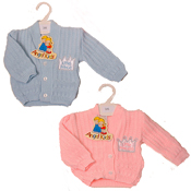 "Angel Kids Baby Cardigan ""Little Prince/Princess"""