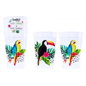 Aloha Design Plastic Party Cup