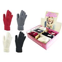 Ladies Soft Microfibre Gloves in Display Box