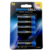 Powercell AA Batteries 4+1 Pack