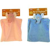 Baby Elephant Comfort Blanket With Rattle