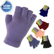 Fingerless Magic Gloves Coloured