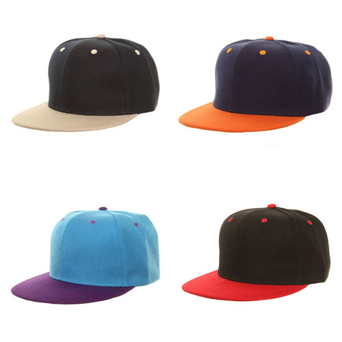 Plain Snapback Baseball Caps