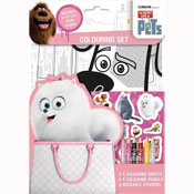 Secret Life of Pets Colouring Set