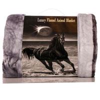 Faux Mink Animal Blanket Horse