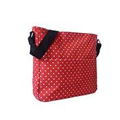 Mini Polka Dot Crossbody Bag Red