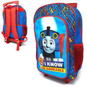 Official Thomas Adorable Deluxe Trolley Backpack