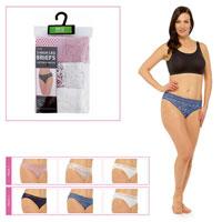 Ladies Lace Briefs 3 Pack