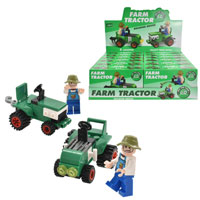 Tractor Bricks Sets 2 Assorted