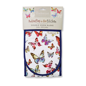 Butterflies Double Oven Glove