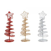 Spiral Mesh Design Metal Christmas Tree
