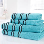 Sirocco Luxury Cotton Bath Sheets Turquoise