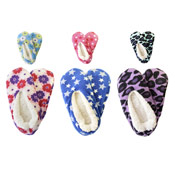Ladies Supersoft Non-Skid Slippers