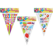 Assorted Happy Birthday Party Bunting