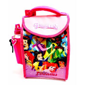 Disney Princess Deluxe Lunch Bag With Bottle
