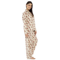 Ladies Rudolph Design Pyjamas Set