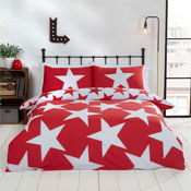 All Stars Red Reversible Duvet Set
