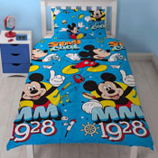 Mickey Mouse Cool Reversible Duvet Set