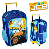 Official Joey JCB Deluxe Trolley Backpack Blue