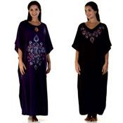 Ladies Embroidered Kaftan - Mauritius & Dubai