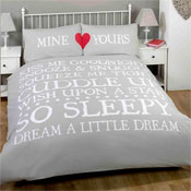 Mine & Yours Natural Duvet Set