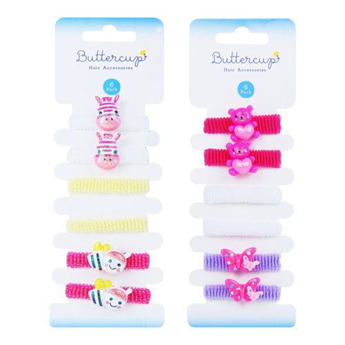 Girls Assorted Animal Hair Bands