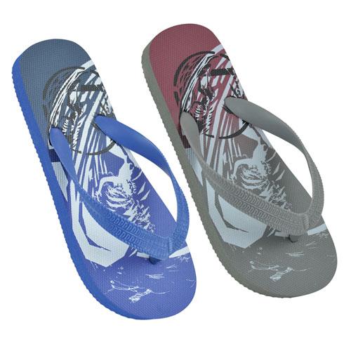 Boys Surfing Print Flip Flops