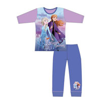 Official Girls Frozen 2 Magical Journey Pyjamas