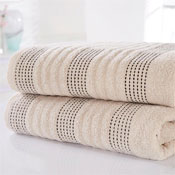 Spa Luxury Cotton Bath Towels Taupe