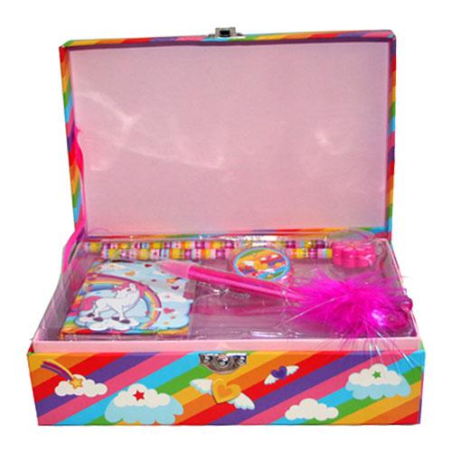 Rainbow Unicorn Stationery Box Set
