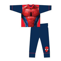 Official Boys Spiderman Novelty Pyjamas