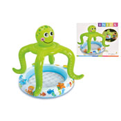 """Smiling Octopus Shade Baby Pool 41"""""""