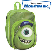Monsters Inc Bags 3D Mike