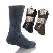 Mens Non Elastic Chunky Socks with Wool CARTON PRICE
