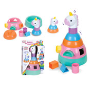 Rainbow Unicorn Shape Sorter