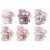 Baby Soft Animal Design Blanket