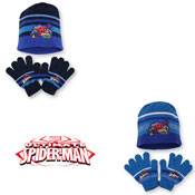 Childrens Hat & Glove Set Ultimate Spiderman