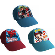 Boys Assorted Character Baseball Caps