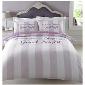 Sweet Dreams Pink Single Duvet Cover Set