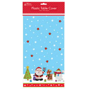 Plastic Table Cover Christmas Novelty